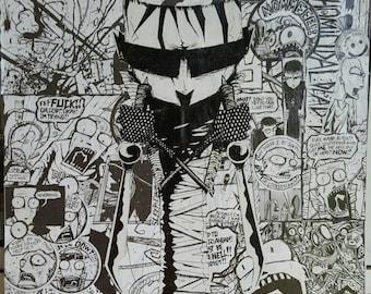 Ooak jthm collage