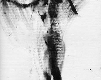 Haunting Fine Art Figure Drawing, No. 85