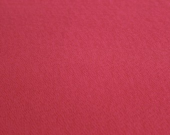 Coral Crepe Techno Knit Fabric Style 481