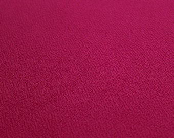 Hot Pink Crepe Techno Knit Fabric Style 481