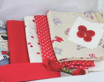 Fabric Box - Romance Theme