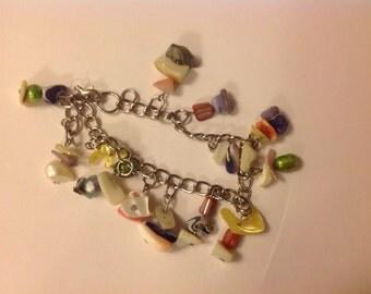 Stone Dangle Bracelet