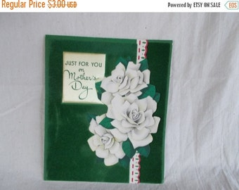 sale Vintage Used Mother Day's Card