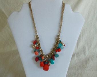 Vintage Summer Dangling Necklace // 10