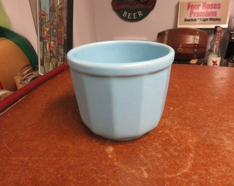 Vintage Small Blue Mixing Bowl 5120