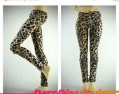 Anniversary Sale 20% Off BJD MSD 1/4 Doll Clothing - Leopard Print Leggings