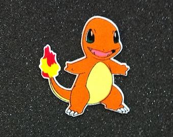 Pokemon: Charmander Iron-On Patch - Limited Stock