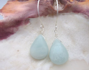 Amazonite Earrings, Amazonite Jewelry. Amazonite, Blue Amazonite, Drop Earrings, Blue Earrings