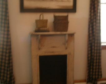 FREE SHIPPING !Faux  Fireplace Mantle / Decorative  fireplace surround