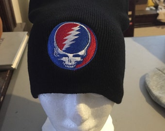 Grateful Dead Steal Your Face Beanie