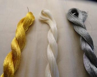 Silk Rare Metallic Threads