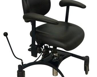 Steam Punk Desk Chair Mid Century Danish Modern