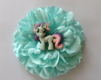 My lil Pony Hair Flower Fascinators (choose which one)