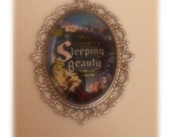 Sleeping Beauty Pendant
