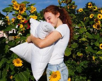 Nezinscot Wool-filled Pillows ** Soft, organic, versatile **
