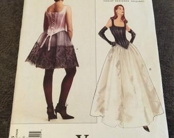 Vogue Pattern 1605 Bellville Sassoon Sizes 12 thru 16