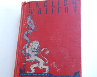Vintage Book, English Writers