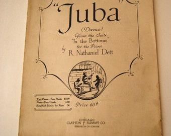 Vintage Sheet Music, Juba