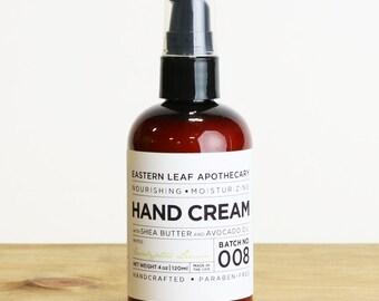Eucalyptus Lemon Hand Cream, 4 oz.