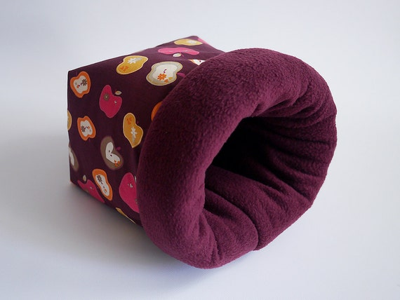 cosy sleeping bag / cuddle sack for guinea pigs hedgehogs or
