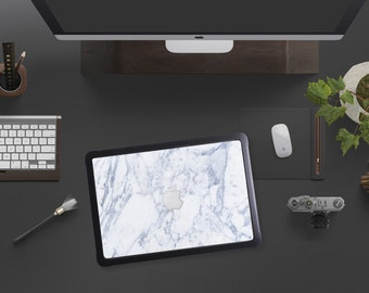 "Makrana White Marble Hybrid Tough Hard Case for Apple Macbook Air , Mac Pro Retina, New Macbook 12"""