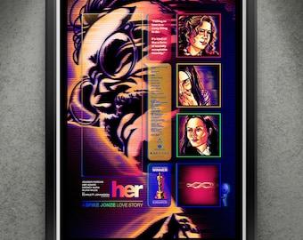 "HER - ""Digital Hearts"" 13x19"