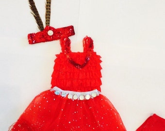 Disney's Zootopia Gazelle Inspired Baby Girl and Little Girls Halloween Costume 3 months - 10 years old