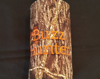 Buzz Hunter Custom Camo Insulated Beverage Bottle Cooler