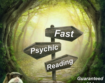 FAST Psychic Reading within 24 Hours GUARANTEED - 7 Days a Week -  via email / PDF !