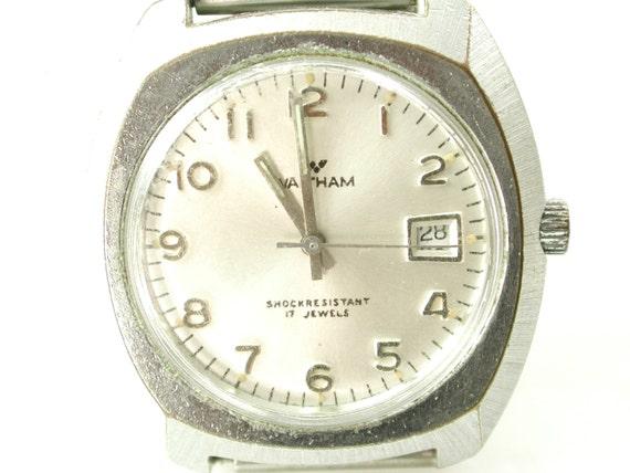 vintage waltham mens wrist
