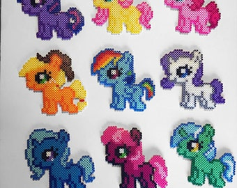 My Little Pony Silly Filly Sprites Perler Beads
