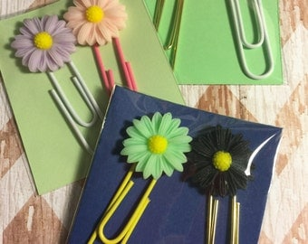 Flower Paper Clips qty: 1