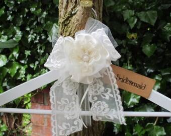 Bridesmaid Coathanger - Photo Prop - Bridal Gift
