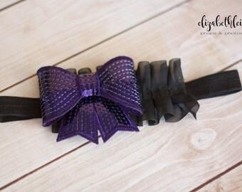 1-3yr  Sequin Bow Headband
