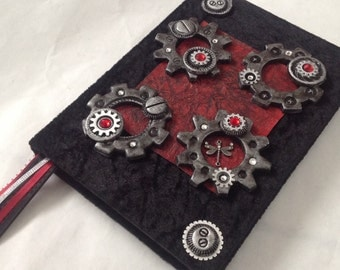 Hand crafted Steam Punk Diary/ Journal / Note Book/Shetch pad/Scrapbook