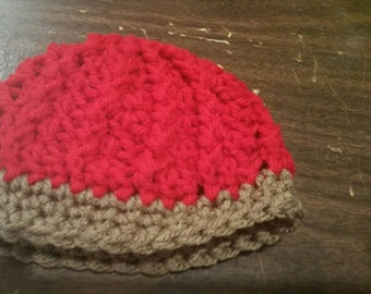 Preemie swirl hat