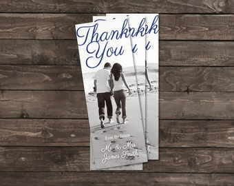 Personalized Bookmarks - Wedding Favors - Bridesmaid Gifts - Wedding Shower Favors - Thank You Photo Bookmarks (Packs of 10)
