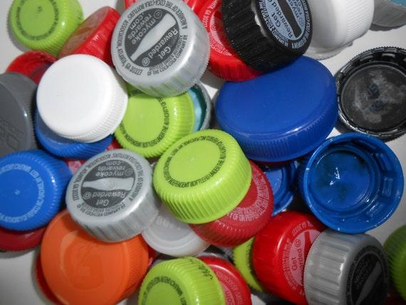 1 Pound Of Plastic Bottle Caps Recycled Soda Caps Bulk Caps