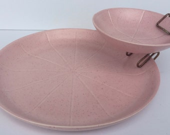 Vintage 1950's Style Chip and Dip Set