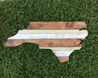 """36"""" State Outline Wood Cutout- Wood Wall Art - CUSTOMIZABLE - Wallhanging"""