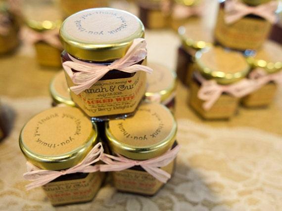 rustic jam wedding favors 200 mini jam favors jam. Black Bedroom Furniture Sets. Home Design Ideas