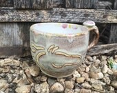 Horse Love-Turtle Signature Collection -large mug- cappuccino- stoneware