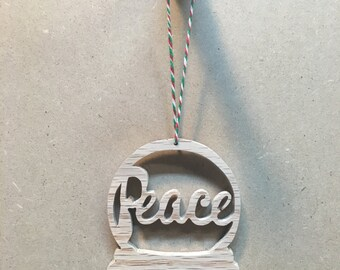 Christmas Ornament - Peace