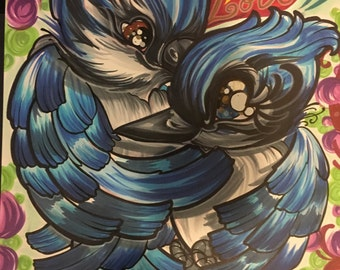 Love Birds - 11x14  Print