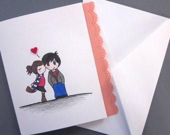 The Kiss, Love Card
