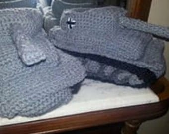 panzer tank slippers
