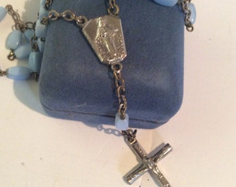 Cross necklace 16 in