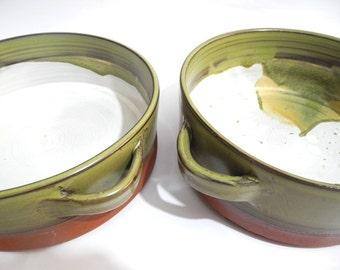 Pie Dish, Ceramic Bakeware, Casserole Dish, Oven to tableware, Handmade Terracotta Pottery