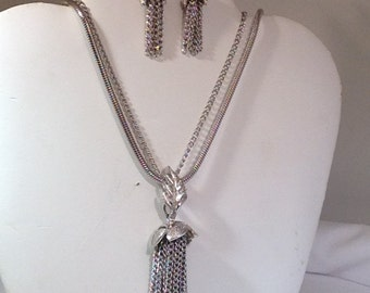 Judy Lee Necklace and Earrings