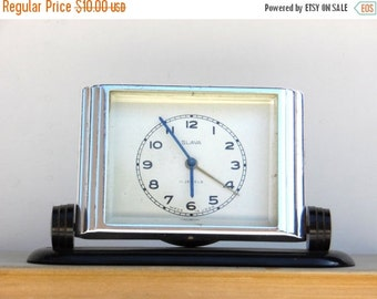 ON SALE SLAVA / Non Working Mechanical Alarm Clock / Made in Ussr